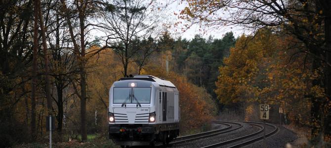 Diesel-Vectron unterwegs im Naabtal