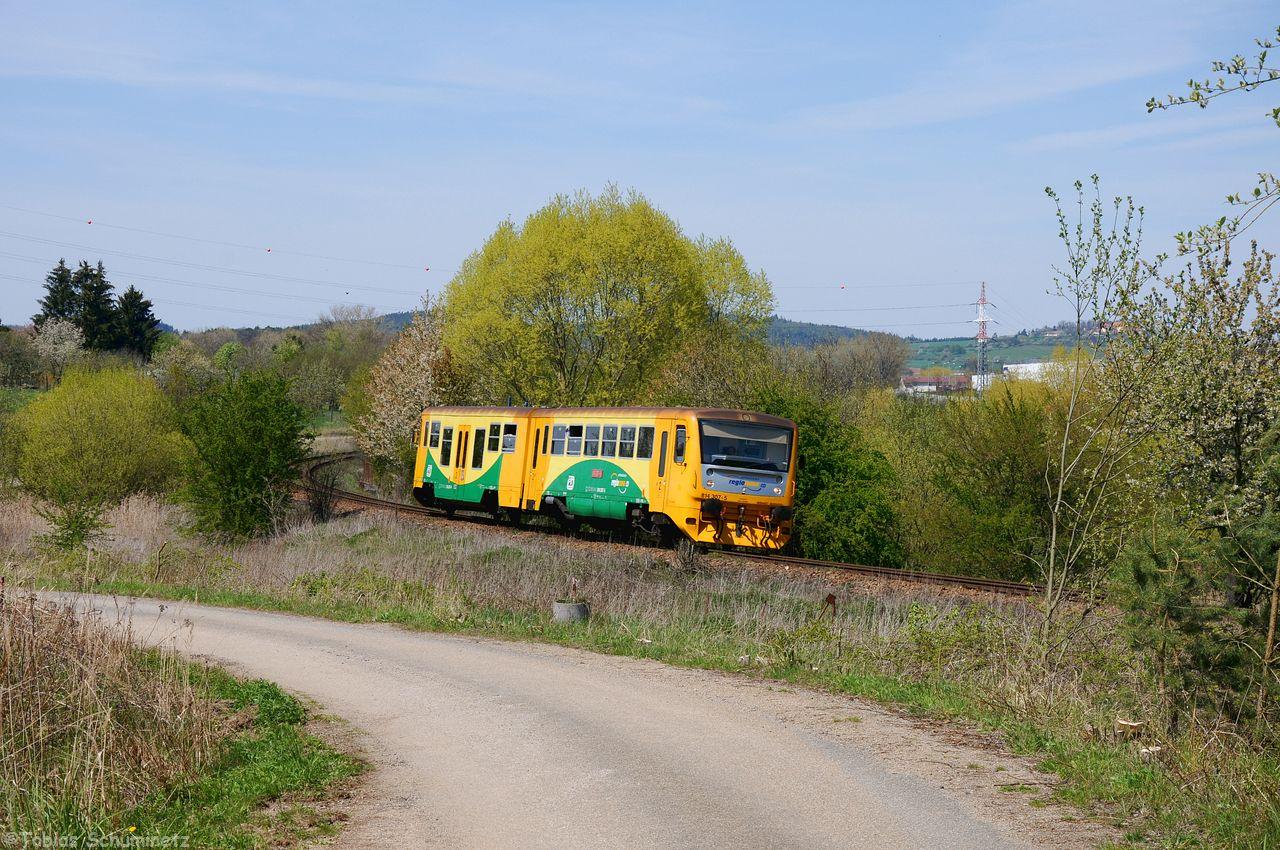 An der frisch freigeschnittenen Stelle dann noch eine Regionova als Os7906 abgewartet.