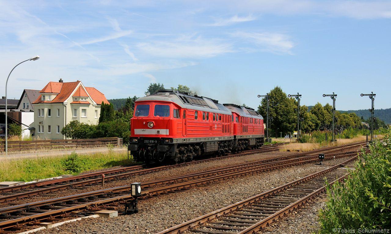 Die beiden 232 wurde dann noch mit den anderen Signalen beim Umsetzen fotografiert.