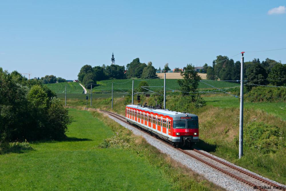 Bei Stumpfenbach gleich hinter Altomünster kam dann mal wieder mein Hochstativ zum Einsatz.