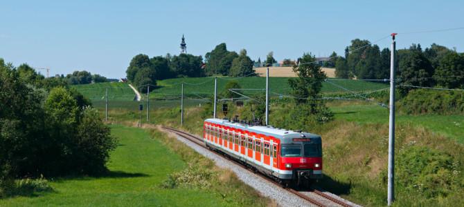 Mit der echten S-Bahn nach Altomünster