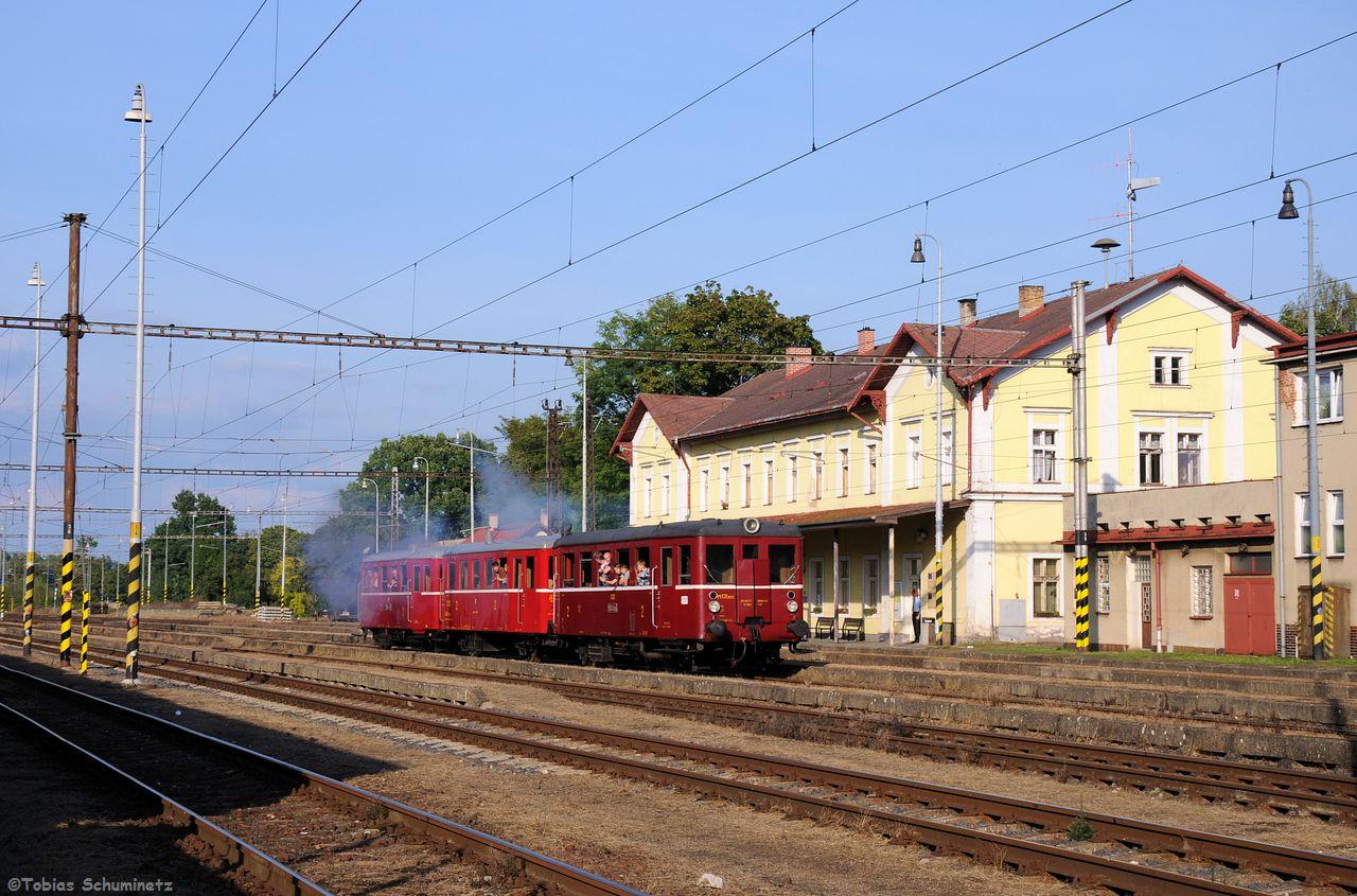 In Trsnice wendete der von M131.1515 angeführte Verbund um zurück nach Cheb zu fahren.