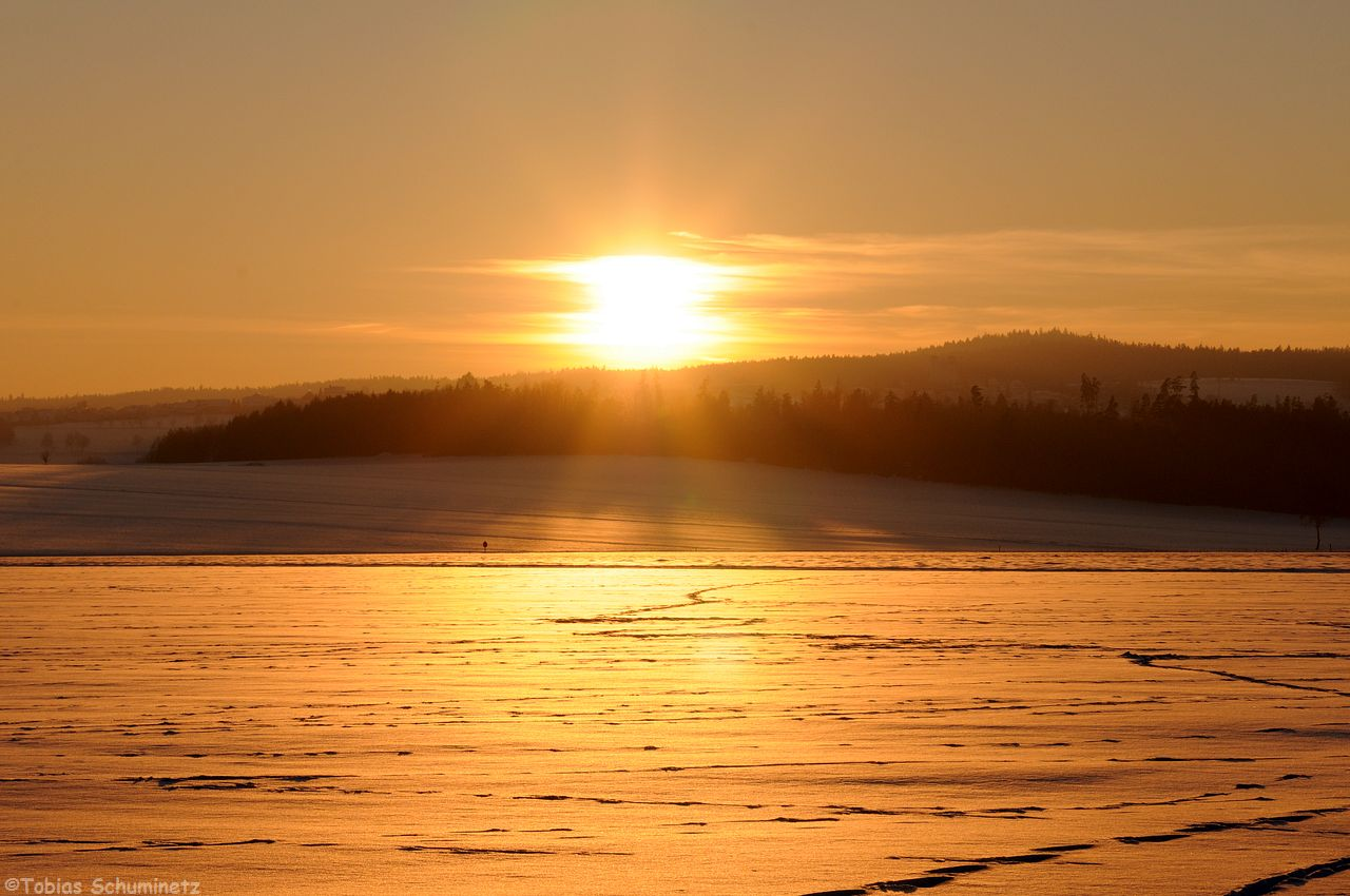 Auf dem Weg zum Auto jedoch, musste diese tolle Sonnenuntergangsstimmung noch festgehalten werden.