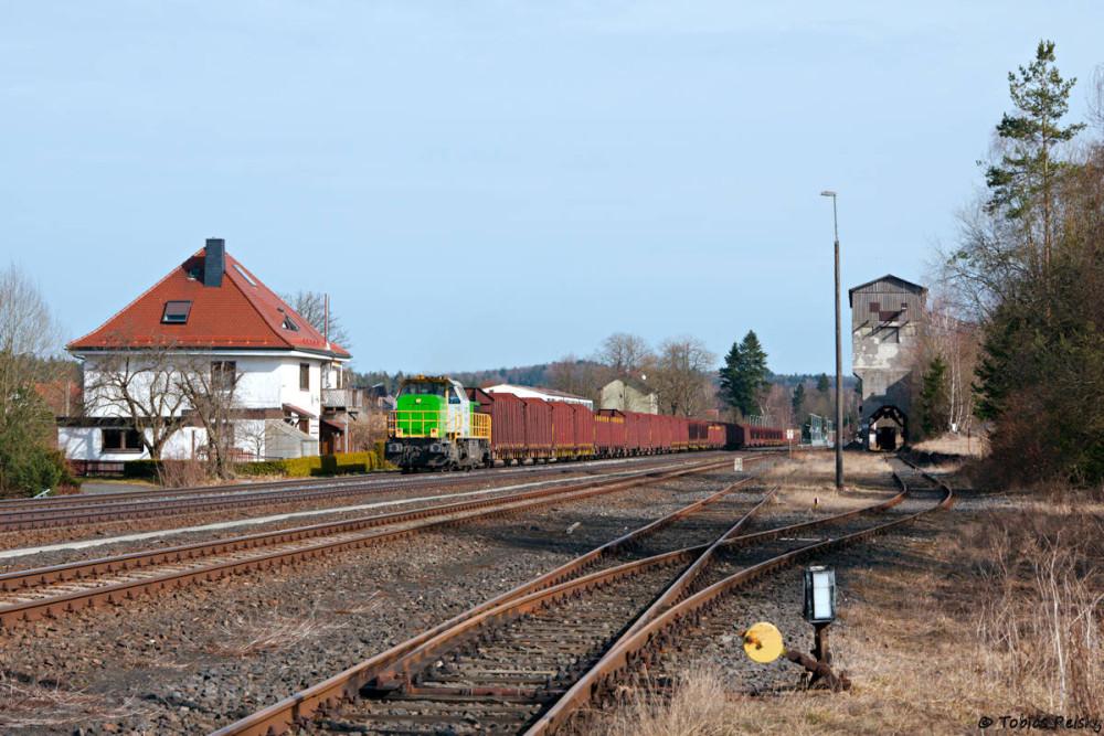 Auch die SETG war an diesem Tag unterwegs: Diesmal mit V1700.03 in Pechbrunn.