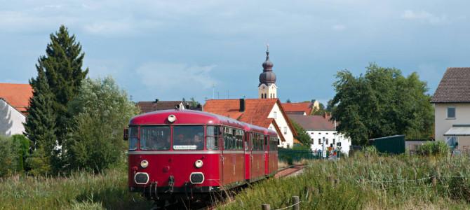 Museums- und Sonderzüge in Bayern im Sommer 2017