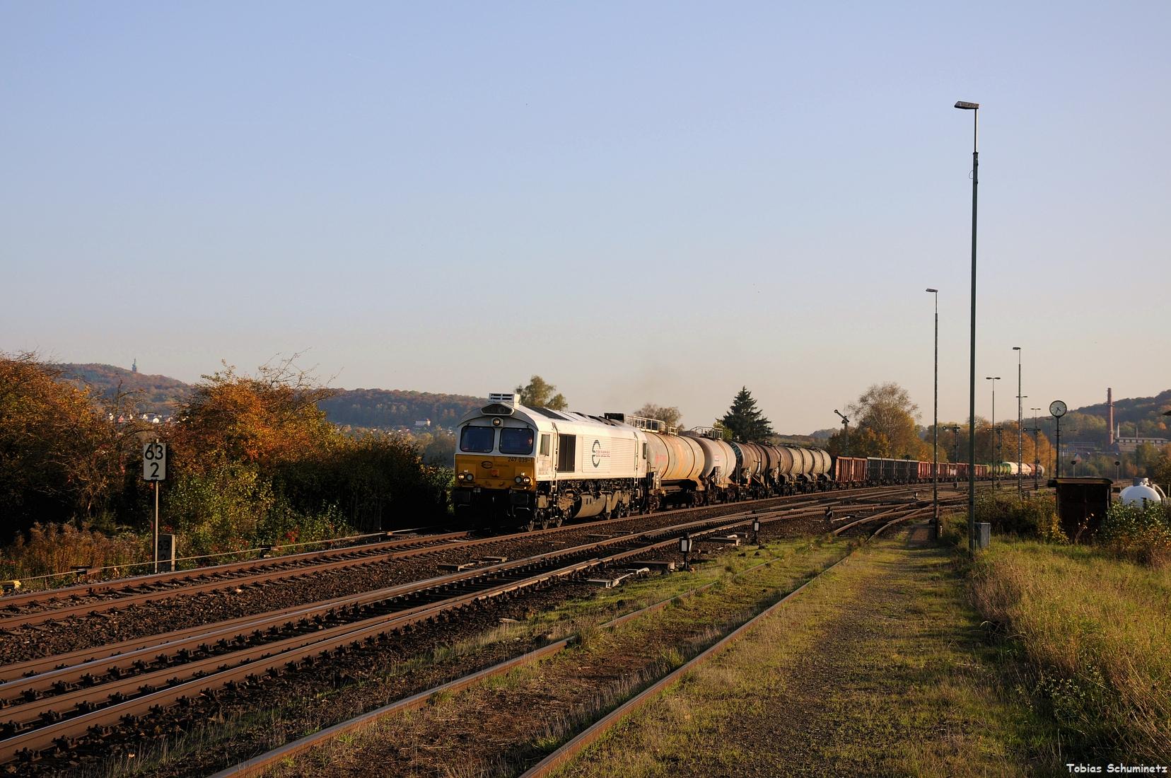 Als Abschluss musste 247 039 mit dem EK56014 in Luitpoldhütte herhalten.