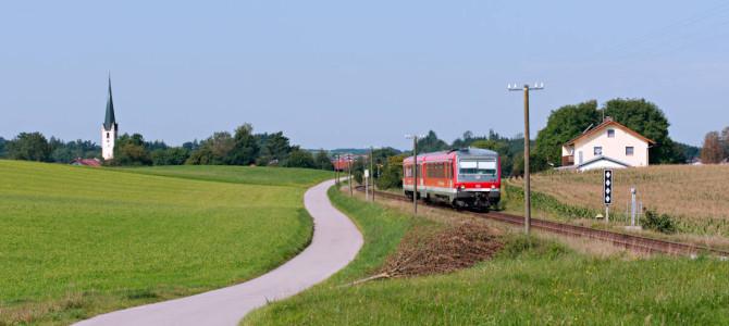 Auf Nebenbahnen durch Ober- und Niederbayern