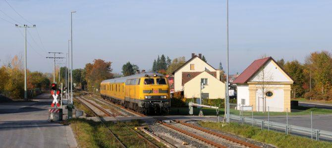 Die gelbe Gefahr! – Messzüge in der Oberpfalz-Spezial