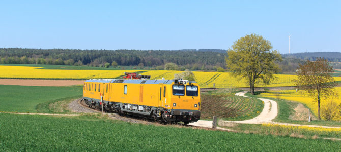 Messzug im April 2020