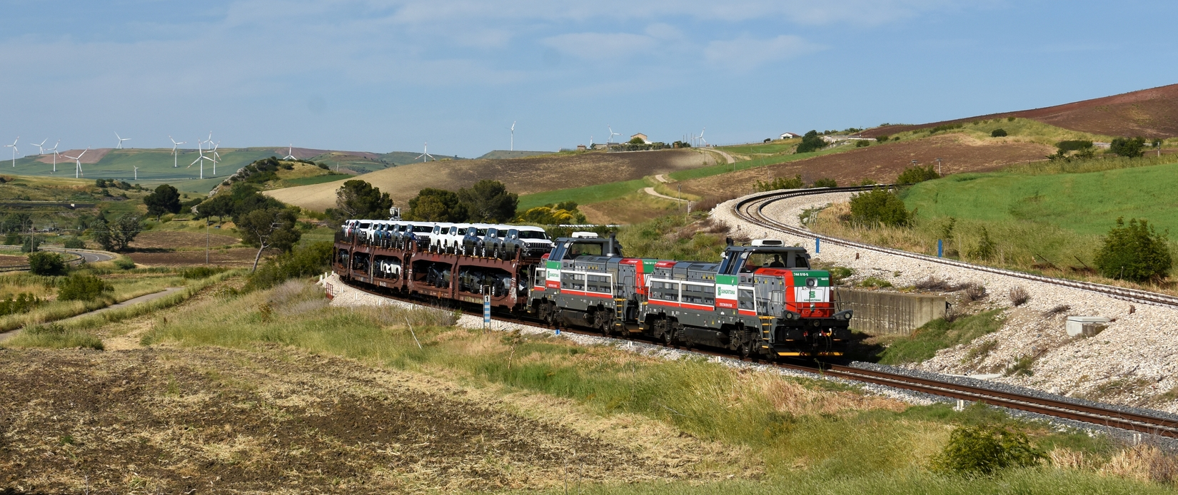 Eisenbahn in Apulien und Basilikata – Italien Frühsommer 2021