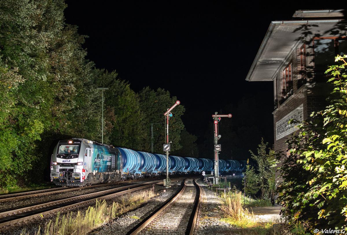 Eisenbahn im Blitzlicht