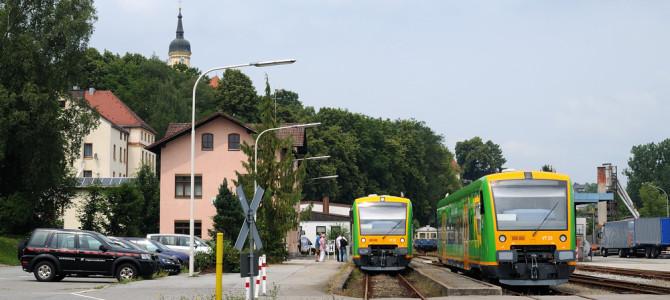 Sonderfahrten zwischen Gotteszell und Viechtach am 04. und 05. Juli