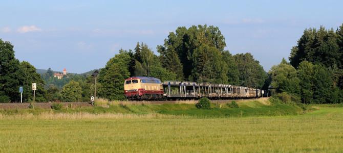 Dieselkonzert im Naabtal: Autozüge quer durch die Oberpfalz