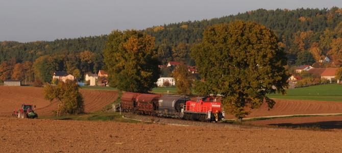 Herbststimmung zwischen Amberg und Schnaittenbach