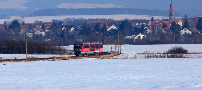 Sonntagsausflug an die winterliche Gräfenbergbahn