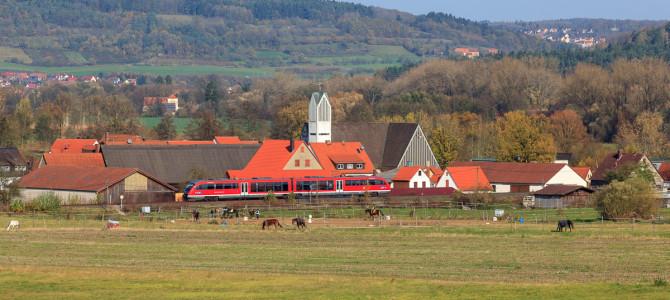 Im Wolkenloch an der Gräfenbergbahn