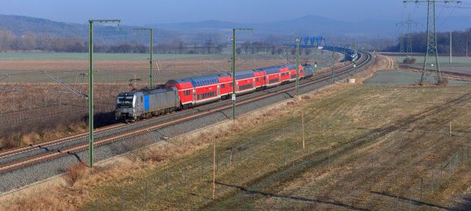 Sonntagsausflug an die SFS Ebensfeld-Erfurt