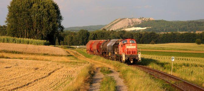 Dieselplanverkehr und ein paar Extras in der Oberpfalz