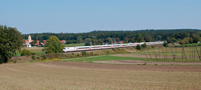 Unterwegs zwischen Ingolstadt und München