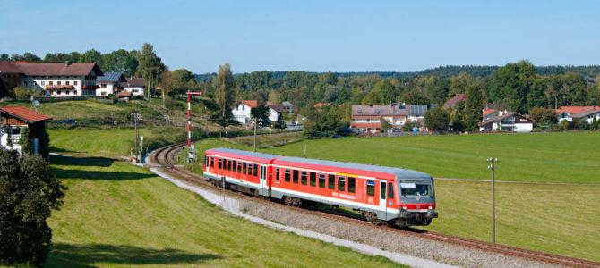 Herbst an der Traun-Alz-Bahn