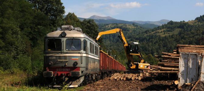 Der Holzzug von Leordina – Rumänien 2019