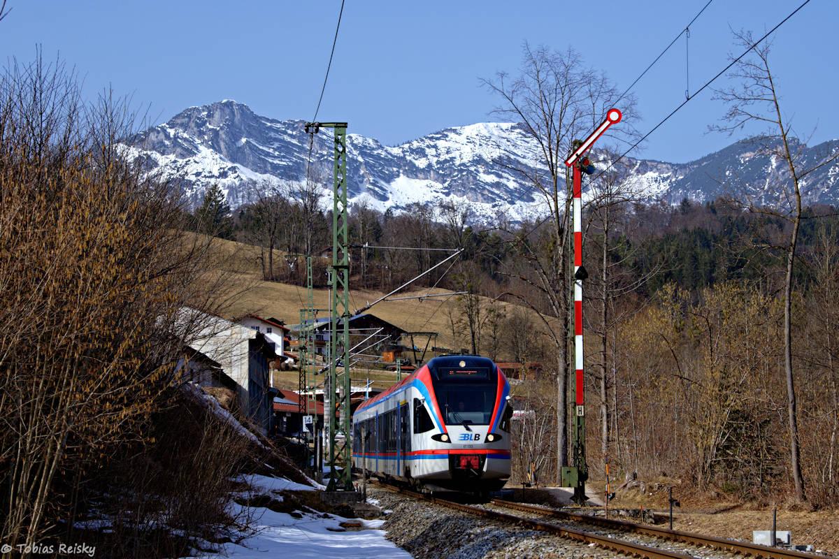 Der letzte Formsignalwinter im Berchtesgadener Land